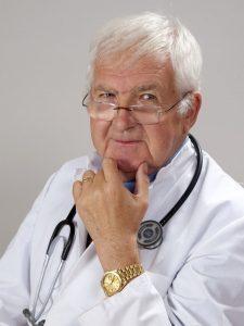 bei Brustentzündung zum Arzt