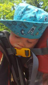 deuter kid comfort test wandertrage wanderrucksack kraxe