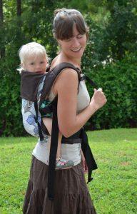 Babytrage wandern