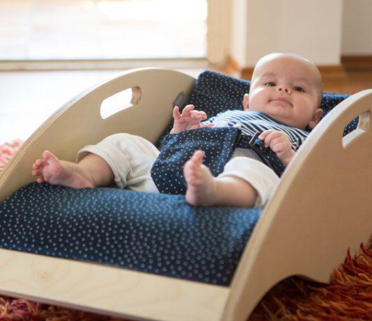 Babywelle Anhock-Spreiz-Haltung