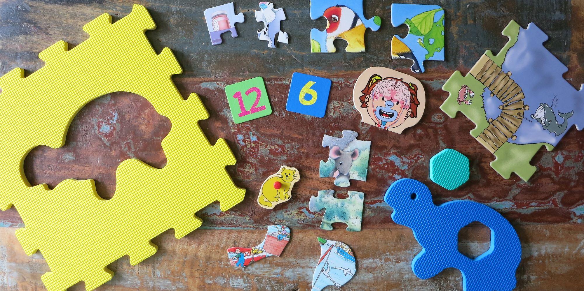 Puzzle für Kleinkinder und Kindergartenkinder