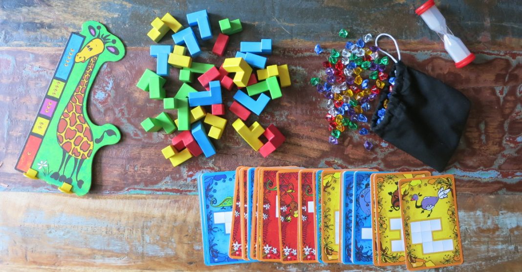 Ubongo Junior 3-D Spieletest