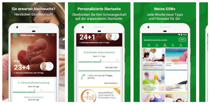 Schwangerschafts App Test